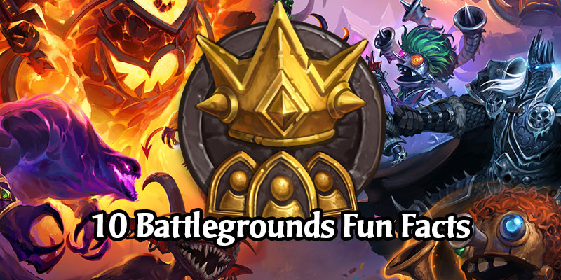 Blizzard Releases 10 Fun Facts on Hearthstone's Battlegrounds