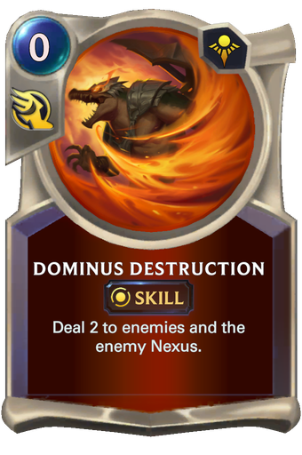 Dominus Destruction Card Image