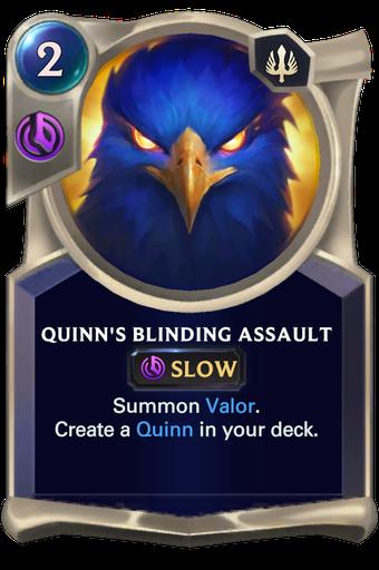 Quinn's Blinding Assault Card Image