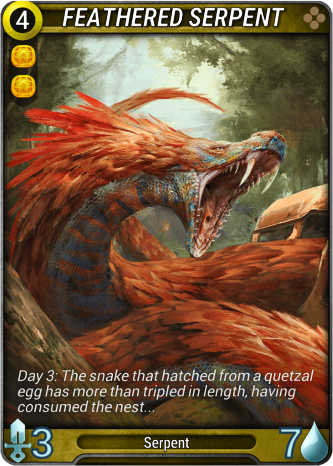 Feathered Serpent Card Image