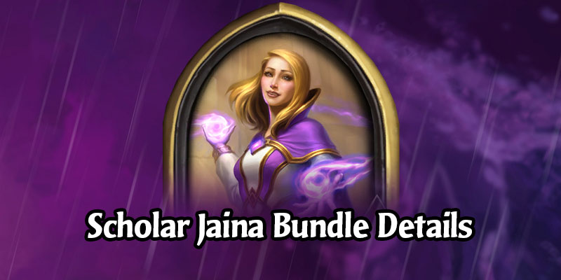 The Datamined Scholar Jaina Playable Hero is From a Shop Bundle Arriving on September 15