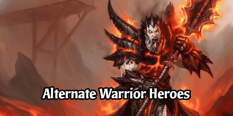 How to Obtain Hearthstone's Alternate Warrior Heroes