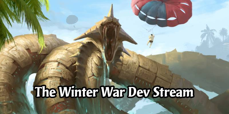 Mythgard January Dev Stream - More Winter War Details, Competitive (Live Updates)