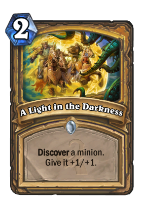 A Light in the Darkness Card Image