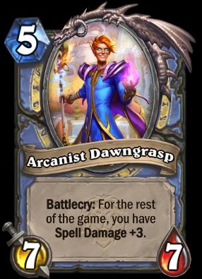 Arcanist Dawngrasp Card Image