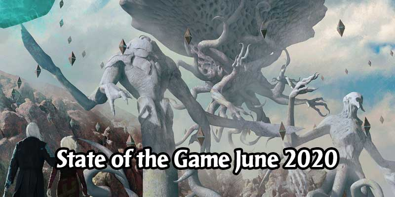 MTG Arena State of the Game June 2020 - Zendikar Rising in August, Change to Rare and Mythic Reprints, Permanent Historic Queue