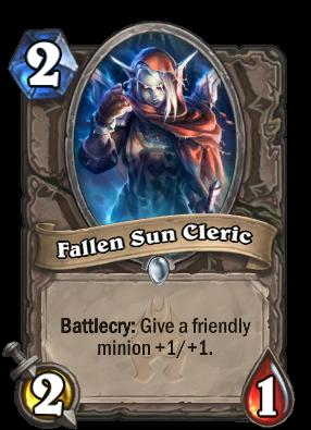 Fallen Sun Cleric Card Image