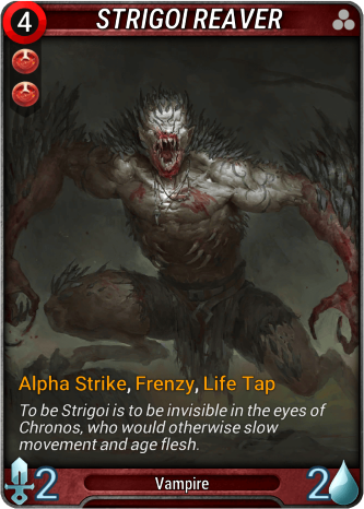 Strigoi Reaver Card Image