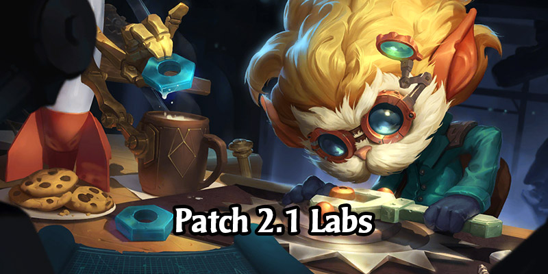 Guides for Legends of Runeterra's Fresh Lab Rotation For Patch 2.1