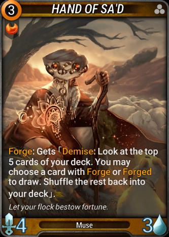 Hand of Sa'd Card Image