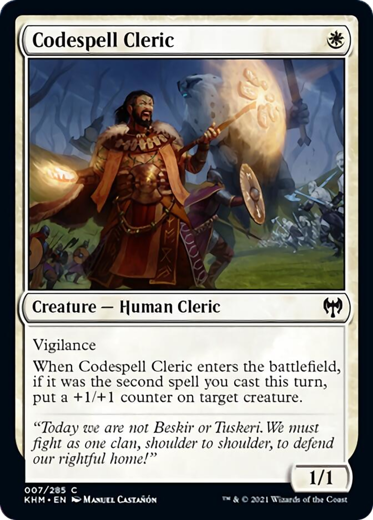 Codespell Cleric Card Image