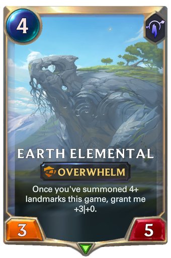 Earth Elemental Card Image