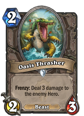 Oasis Thrasher Card Image