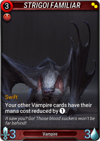 Strigoi Familiar Card Image