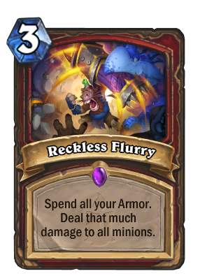 Reckless Flurry Card Image