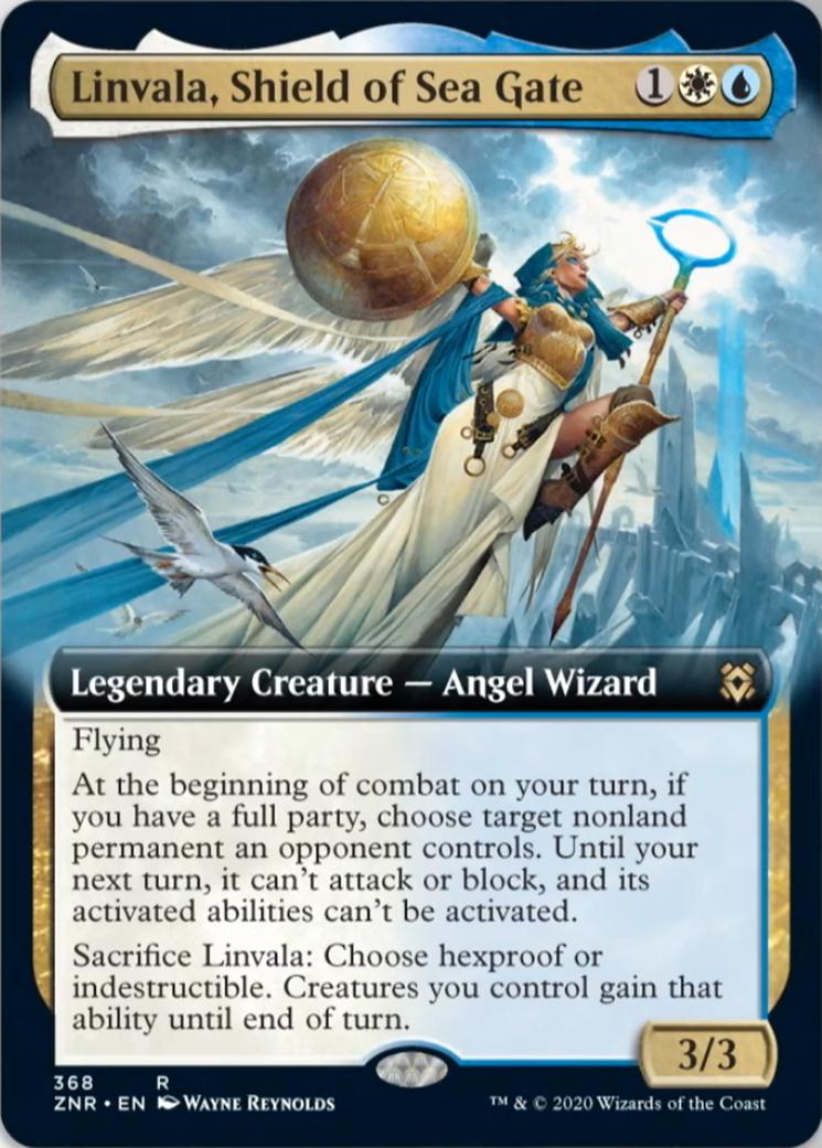 Linvala, Shield of Sea Gate Card Image