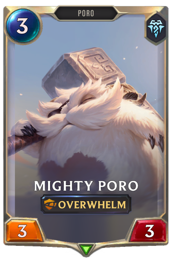 Mighty Poro Card Image