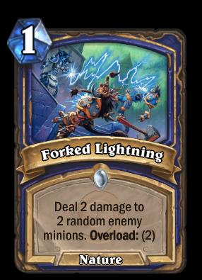 Forked Lightning Card Image