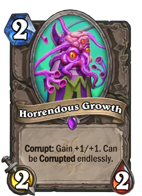 Horrendous Growth Card Image