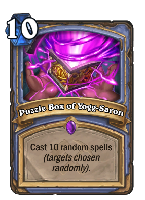 Puzzle Box of Yogg-Saron Card Image