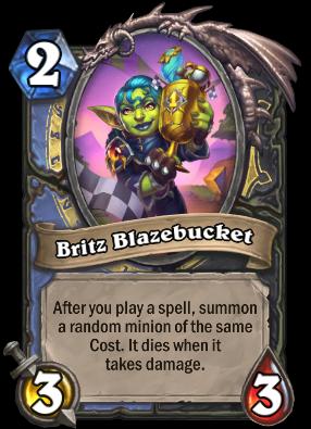 Britz Blazebucket Card Image