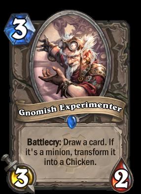 Gnomish Experimenter Card Image