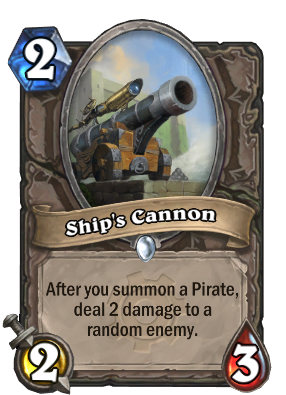 Ship's Cannon Card Image