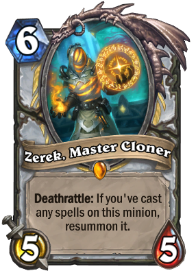 Zerek, Master Cloner Card Image