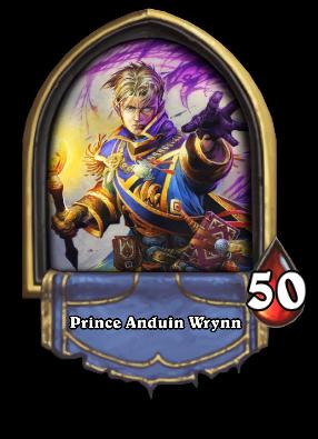 Prince Anduin Wrynn Card Image