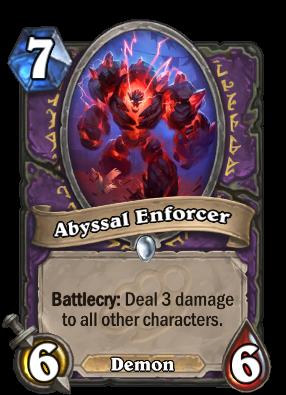 Abyssal Enforcer Card Image