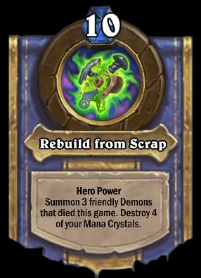 Rebuild from Scrap Card Image