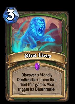Nine Lives Card Image