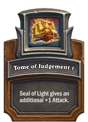 Tome of Judgement 1 Card Image