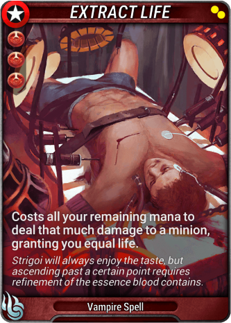 Extract Life Card Image