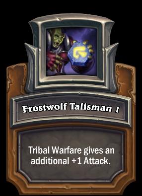Frostwolf Talisman 1 Card Image