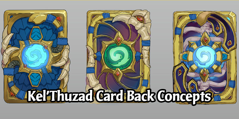 Hearthstone's New Kel'Thuzad Card Back Had Some Fascinating Concepts