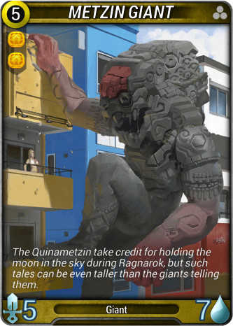 Metzin Giant Card Image