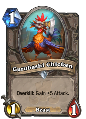 Gurubashi Chicken Card Image