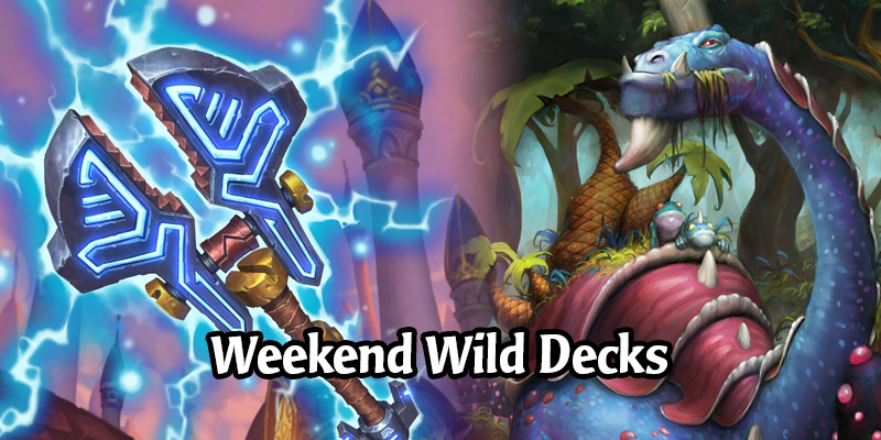 Weekend Wild Hearthstone Decks - Bomb Warrior, Murloc Rogue, OTK Paladin, and More!