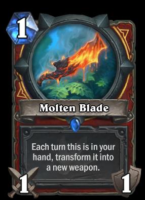 Molten Blade Card Image