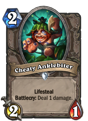 Cheaty Anklebiter Card Image