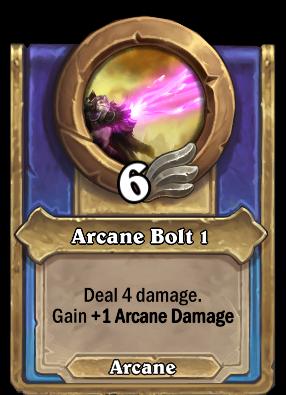Arcane Bolt 1 Card Image