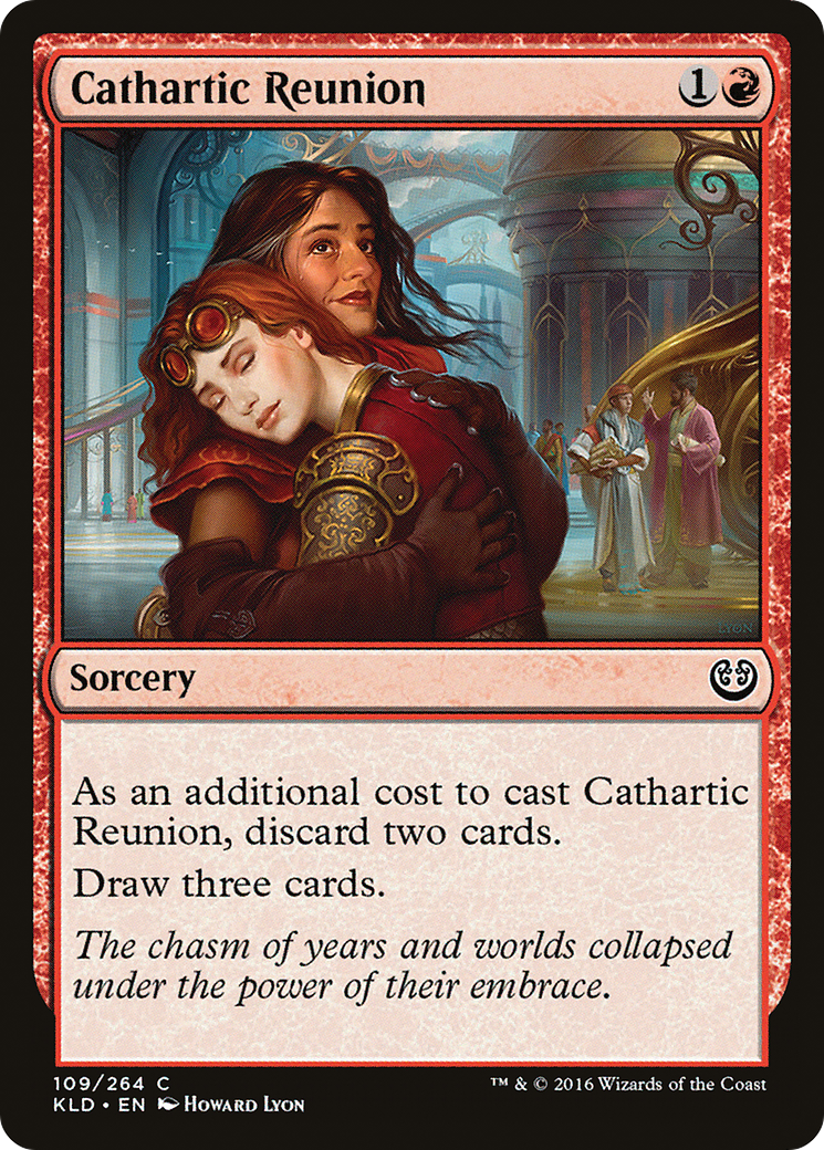 Cathartic Reunion Card Image