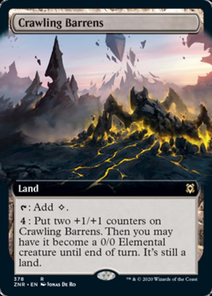 Crawling Barrens Card Image