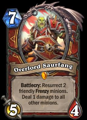 Overlord Saurfang Card Image