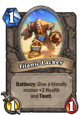 Titanic Lackey Card Image