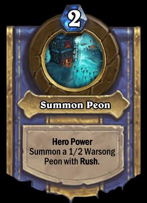 Summon Peon Card Image
