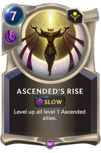 Ascended's Rise Card Image
