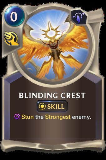 Blinding Crest Card Image
