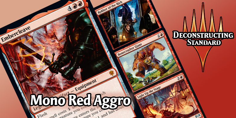 Deconstructing Standard - Mono Red Aggro